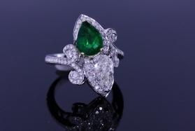 Colored Ruby Engagement Rings In Atlanta