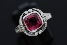 Custom Ruby Engagement Rings In Atlanta