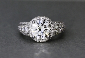 Custom Diamond Rings In Atlanta